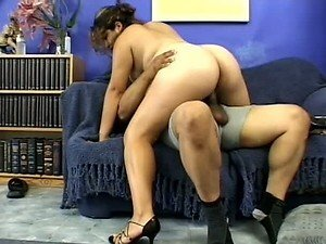 Black Meat For Chubby Pregnant Latina