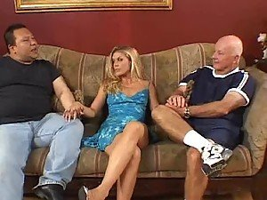 Hubby Watches As His Wife Gets Dicked