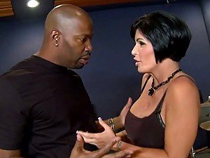 MILF Shay Fox Wants Interracial Sex In The Recording Studio