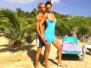 Amazing Anal Action at the Beach with Horny Brunette Cindy Lords
