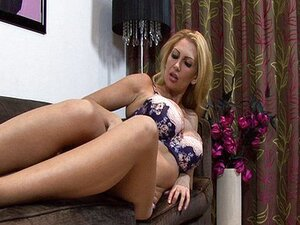 Big breasted British MILF real solo pleasure