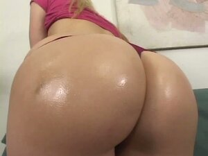 Blonde with big booty drilled by cock