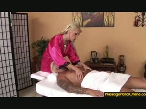 Massage ends with a happy ending