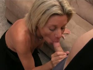 Mature babe in a tryst with younger dude