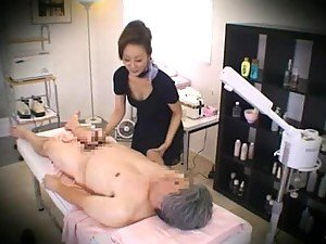 hidden cam sensual massage old lady