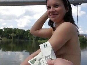 Sweet czech babe screwed hard for cash