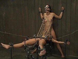 Double The Fun For Slutty Babes In BDSM Scene