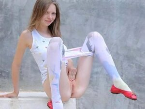 Luxury peening of super skinny teenager from eastern russia
