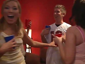 Ally Kay and Michelle Brown are College Party Babes