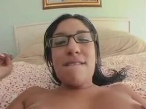 Hairy nerd hardcore in POV