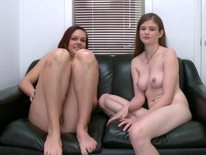 Two adorable chicks show their skills during a casting