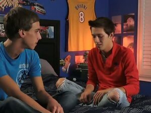 Jordan Thomas confesses to Luke Allen how bad he wants to get head from a hot gay boy. Luke has no problem with his dirty secret and goes right down on his teen boy buddy. Luke is ready to give Jordan much more than a sloppy blow job, including Jordan's c