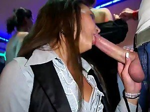 Horny Sluts Sucking Cock and Licking Pussy In Wild Party