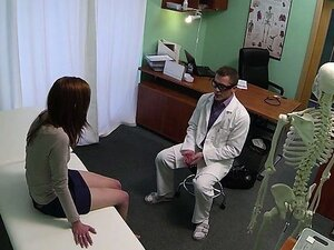 Raven haired Milf pussy screwed up with fraud doctor