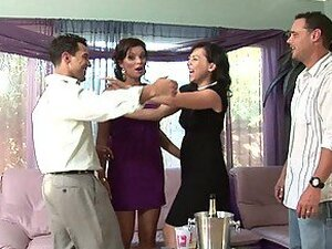 Two Couples Get Drunk And Fuck Each Other In Nasty Foursome