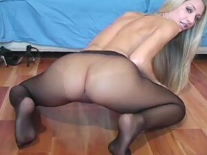 Slender blonde being drilled in her pussy