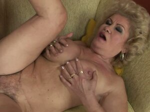 Randy Busty Granny Having a Blast with a Hard Teen Cock