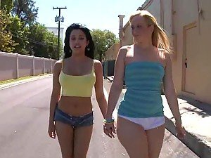 Briella Bounce And Abella Anderson Showing Their Hot Bodies Under The Sun