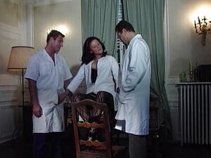 Joy Karins -German Nurse fucked by two doctor