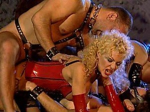 Tons Of Action In Wild Fetish Group Sex Orgy