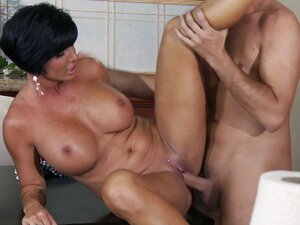 Voluptuous milf enjoying hardcore sex