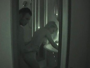 Amateur Couple Having Sex in Night Vision Homemade Video