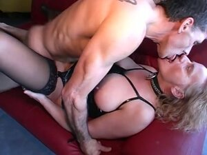 Mature german drilled hard on her used pussy