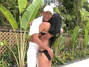 Monster Cock Madness With A Hot Latin Babe