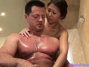 Asian girls are the ones who give the best Nuru massage, for sure