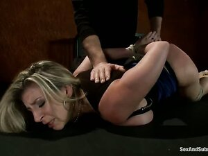 The very enthusiastic, sexy and voluptuous Sara Jay takes her successful adult career to new heights as she gets dominated and fucked in tough bondage! Agressive wild sex.