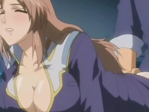 Busty hentai gets ass injection and fucked by her boss