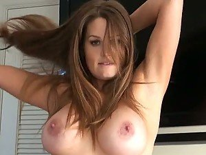 Busty Amateur Allison Moore Getting a Big Dick Anal Fuck