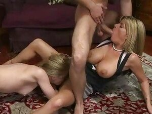 Busty mature Kristal Summers threesome