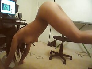Sexy ebony dance