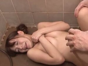 Juicy young Japanese babe gets busy in the shower