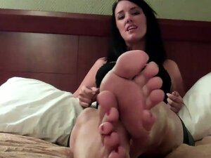 You know you get hard for feet, especially my soft, sexy