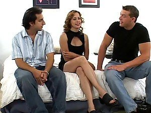 Dick Needy Milf Payton Leigh Has A Threesome With Two Stiff Bones