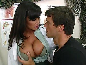 Doctor Lisa Ann Bubble Butt Fucking This Uniformed Guy's Big Dick