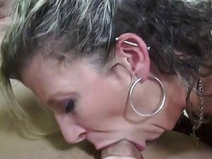 Sara takes a cock deep in her throat