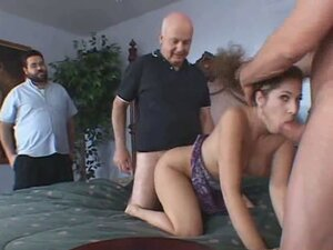 Vicious wife gets banged in front of her husband