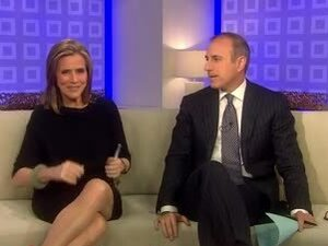 Meredith Vieira gets so fucking naughty in the TODAY's show