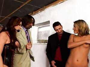 Young lustful bitches take part in Cristoph's movie. BDSM