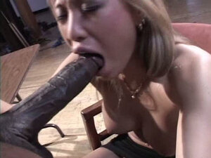 Asian horny busty slut is fucked by a black bull