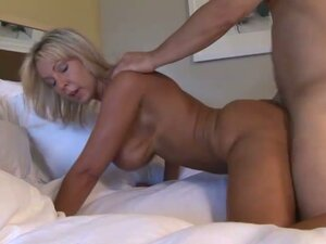 Alysha getting fucked doggy style, taking dick hot milf cunt