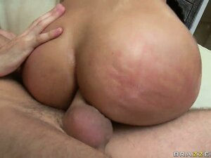 Giant tit babe Bridgette B, the Spanish Doll, gets drilled hard in both her fuck holes