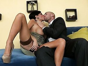 Housewife Veronica Avluv has some surprise for her husband