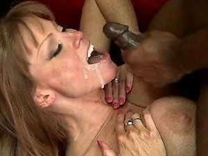 MILF Darla Crane Taking an Interracial Anal Fucking For a Good Cause