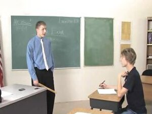 Pissed Off Teacher Gets Happy Ending