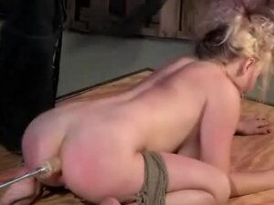 Whipped Machined And Fucked In The Ass