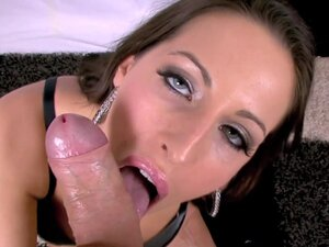 Cock-sucking cutie Kortney Kane gets big cock